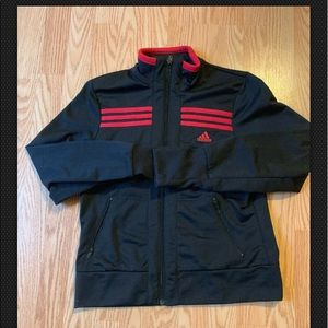 Women's Adidas Zip Up Athletic Track Jacket